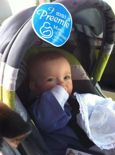 Charlie at last year's March for Babies.